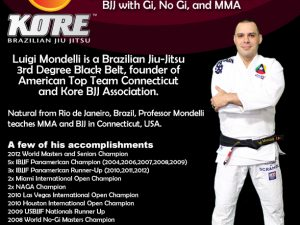 Luigi Mondelli's BJJ European Tour. Have a Seminar in Your School
